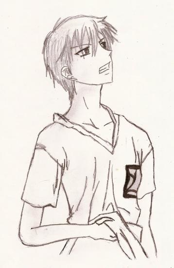 dessin manga basket